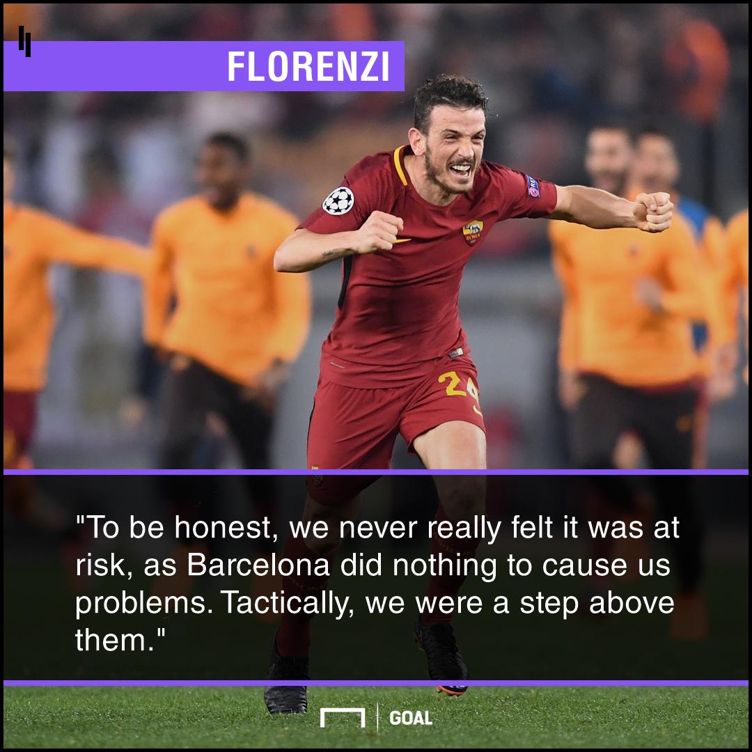 Florenzi Roma Barcelona PS