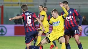 Marcus Rohden Jakub Jankto Crotone Udinese Serie A 12042017