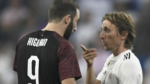 Higuain Modric Real Madrid Milan