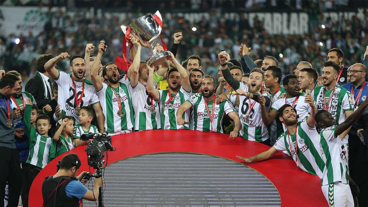 Konyaspor won Turkish Cup 2017