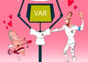 14 DE FEVEREIRO | O Real Madrid é só amores com VAR