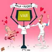 Real Madrid VAR Cartoon