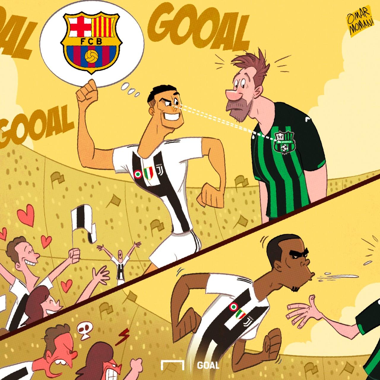 Ronaldo's first goal
