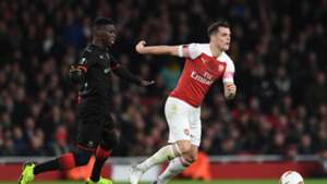 Ismaila Sarr Arsenal Rennes Ligue Europa
