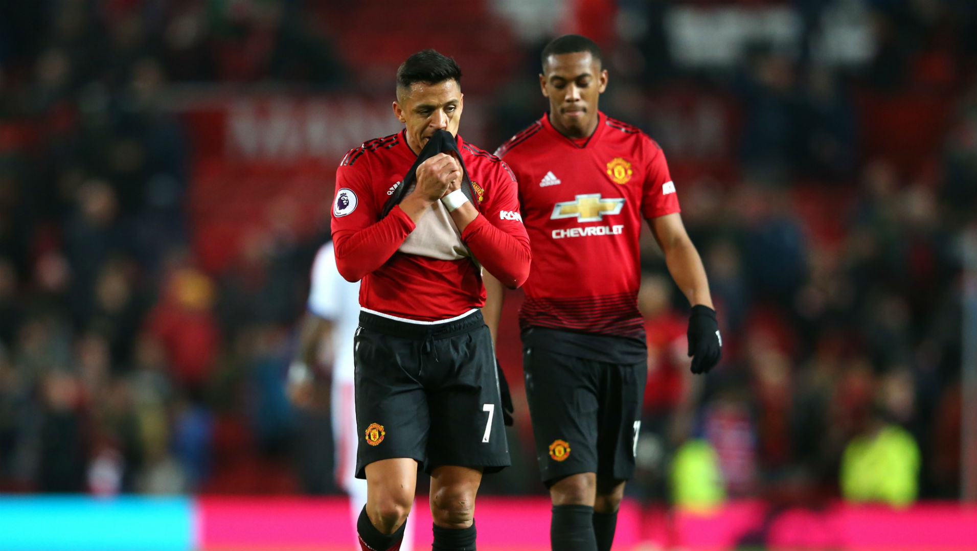 241118 Manchester United Crystal Palace Alexis Sánchez Anthony Martial