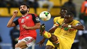 Yacouba Sylla of Mali and Mohamed Salah of Egypt