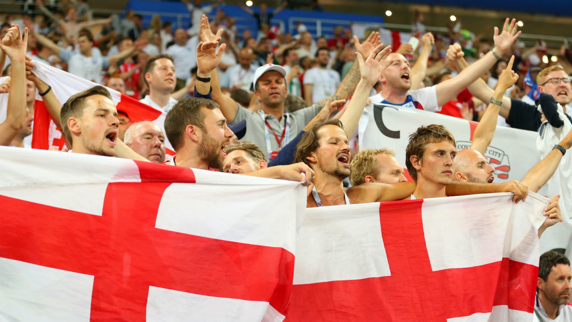 Inglaterra fans