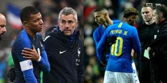 Kylian Mbappe Neymar Injuries