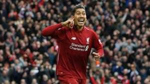 Roberto Firmino Liverpool vs Tottenham Premier League 2018-19
