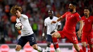 Antoine Griezmann Mahmut Tekdemir Turkey France Euro Qualifiers 08062019