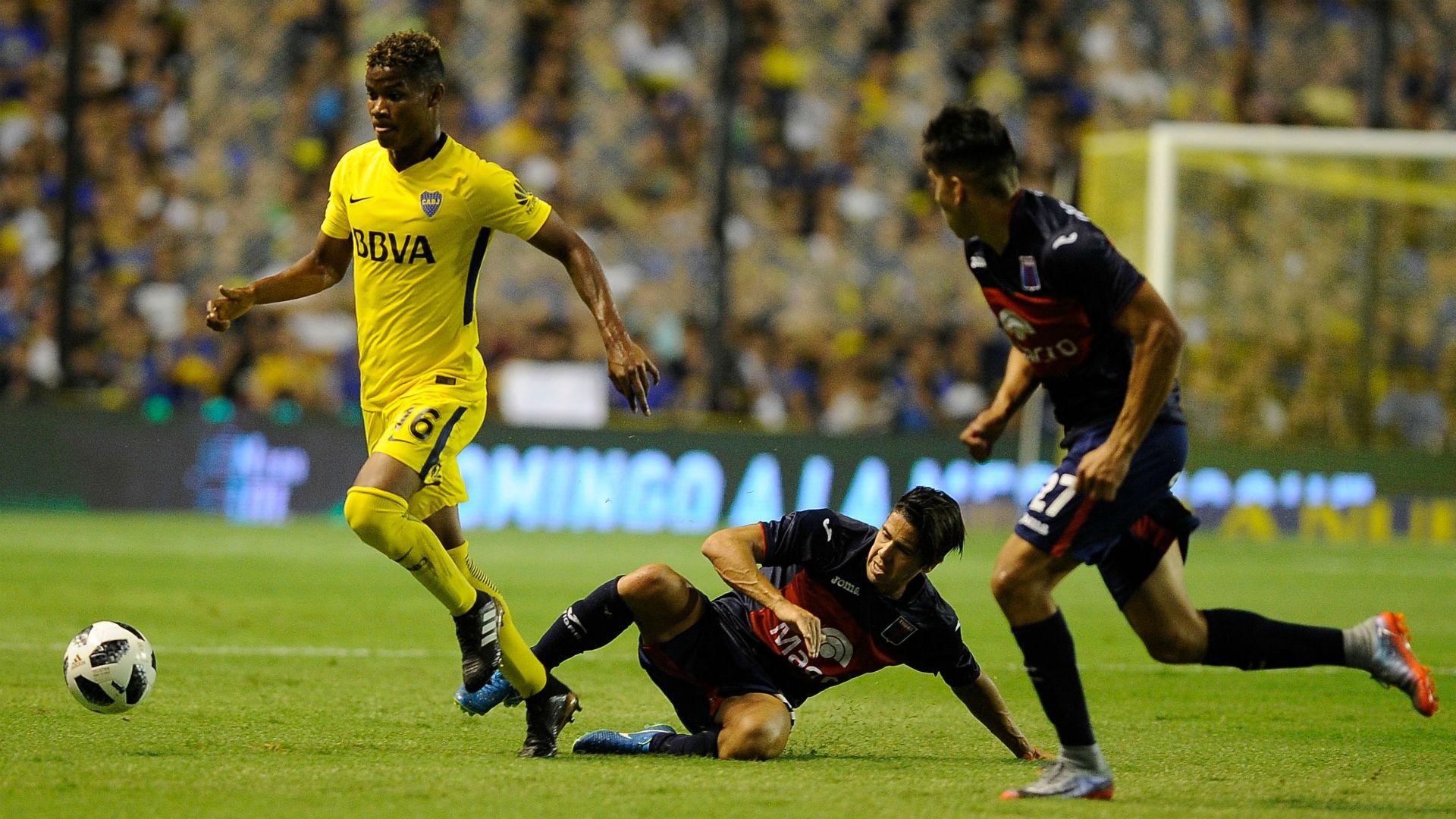 Wilmar Barrios Boca Tigre Superliga 10032018