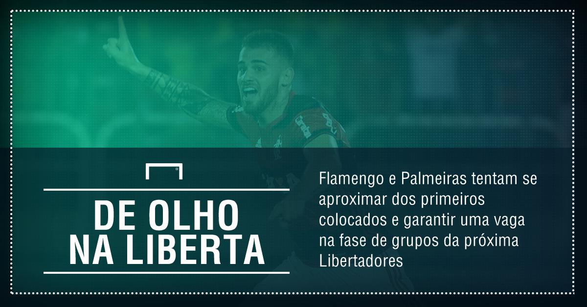 GFX Palmeiras x Flamengo