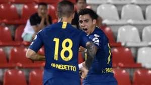 AFP Libertad Boca Juniors Copa CONMEBOL Libertadores 30082018 Dario Benedetto Cristian Pavon