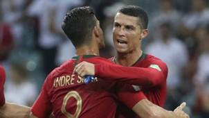 André Silva Cristiano Ronaldo Portugal 18 06 2018