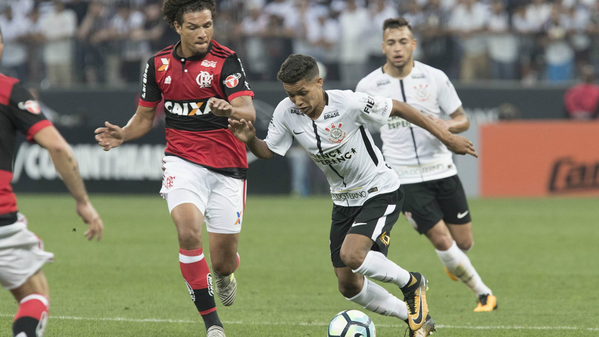 william arão pedrinho flamengo corinthians