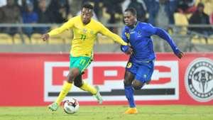 Bafana Bafana, Lebogang Maboe against Tanzania