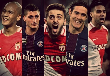 Collage Monaco-PSG