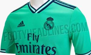 36bab08e20 Así sería la tercera equipación verde-turquesa de Real Madrid para ...