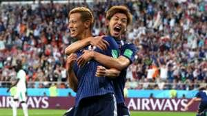 Keisuke Honda Japan Senegal World Cup 2018