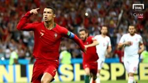 Cristiano Ronaldo Portugal Spain