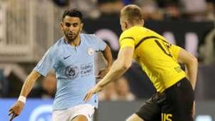 Riyad Mahrez Manchester City Borussia Dortmund ICC 2018