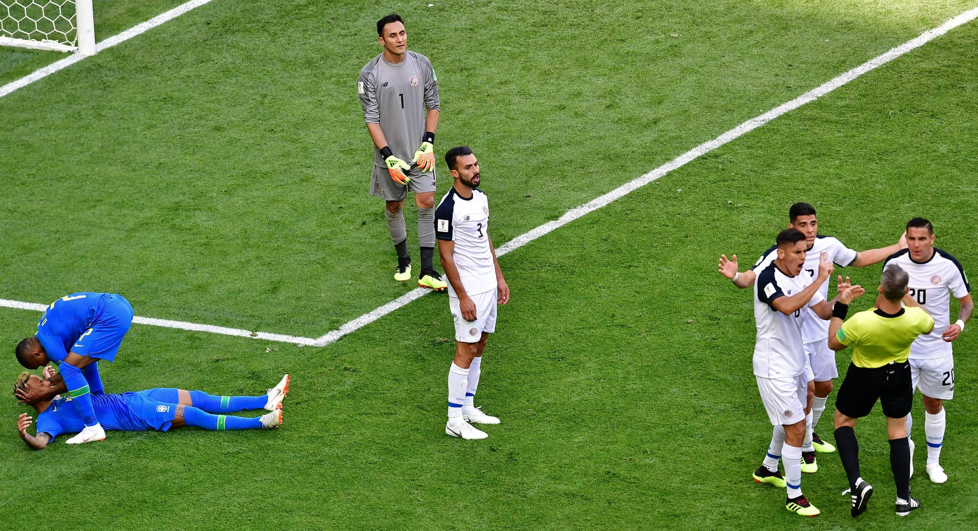 Neymar Brasil Costa Rica Copa del Mundo 2018