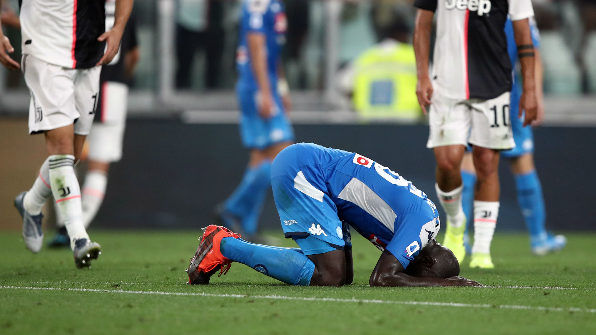 Koulibaly hurt by decisive own goal against Juventus