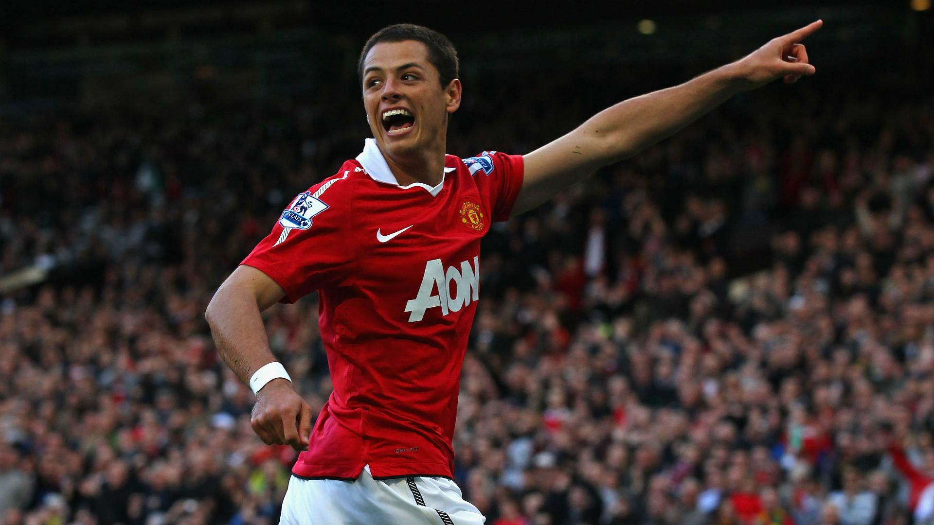 Javier Chicharito Hernández Manchester United