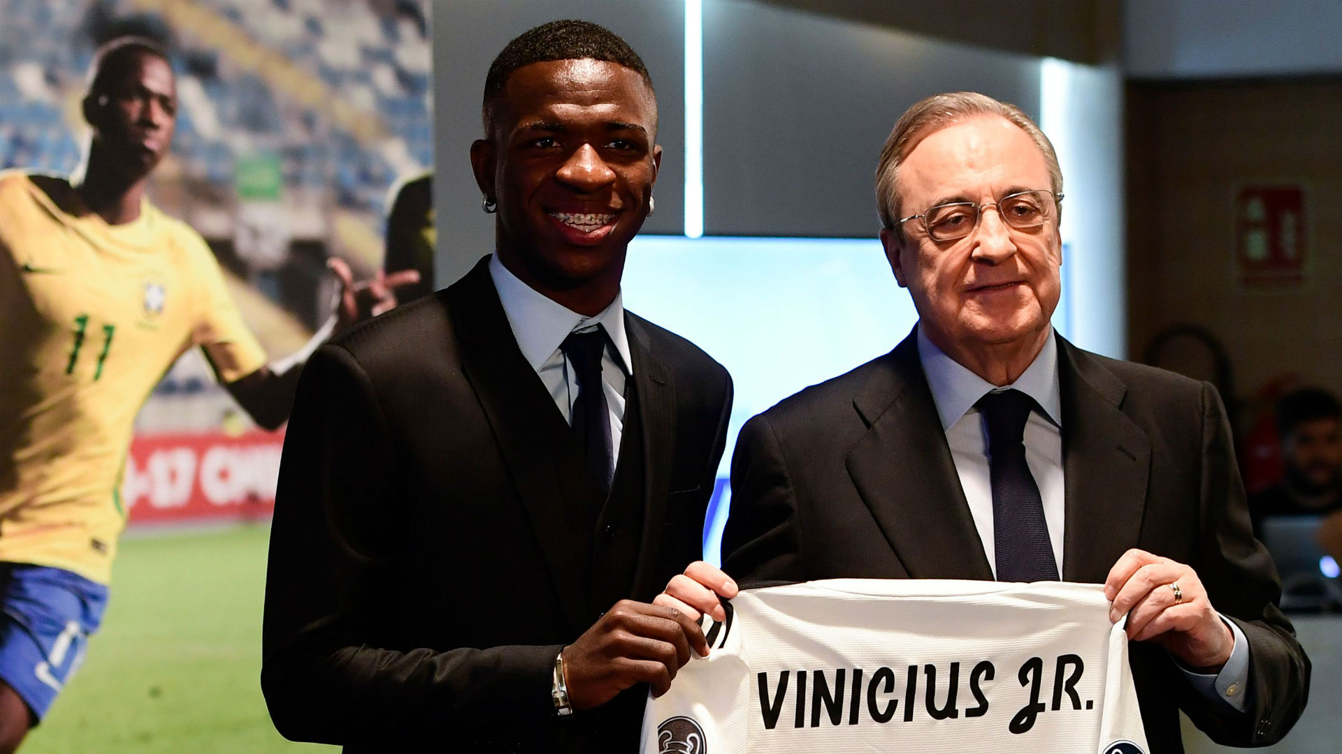 Vinicius Jr Real Madrid Florentino Perez