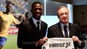 Vinicius Jr Real Madrid Florentino Perez