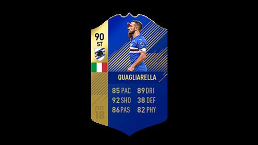 FIFA 18 Calcio A Team of the Season Quagliarella