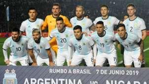 Argentina Nicaragua Amistoso Internacional