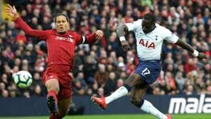Virgil van Dijk Moussa Sissoko Liverpool Tottenham 010419