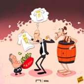 Paul Pogba Gareth Bale Cartoon
