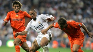 Roberto Carlos Real Madrid vs Valencia