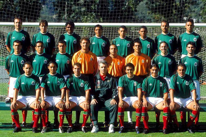 México Copa América 2001
