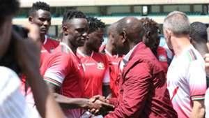 Victor Wanyama Allan Wanga and Michael Olunga v William Ruto Kenya and Harambee Stars.