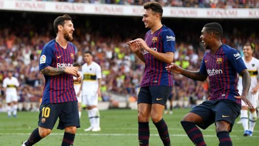 Lionel Messi Barcelona Boca Joan Gamper 15082018
