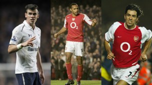 collage Arsenal Spurs