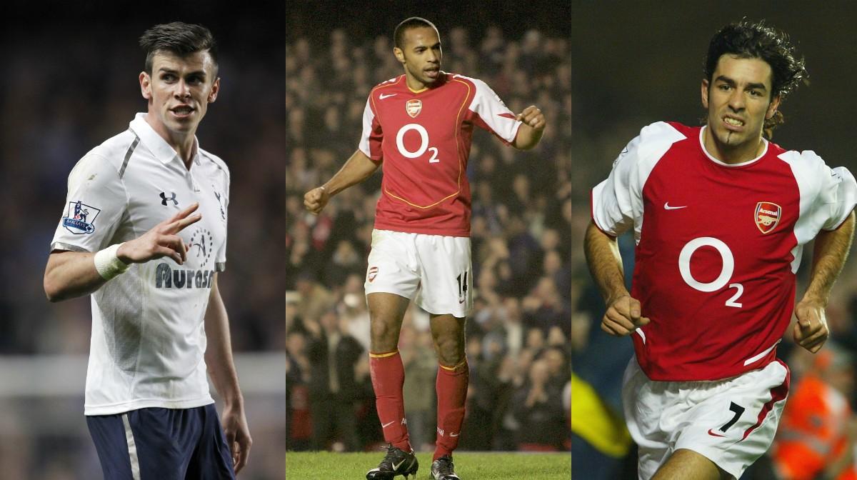 collage Arsenal Spurs