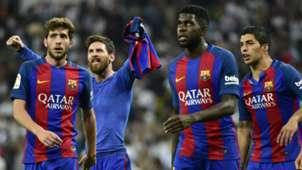 Lionel Messi Real Madrid Barcelona LaLiga.