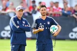 Davide Carlo Ancelotti Bayern München Training 01072017
