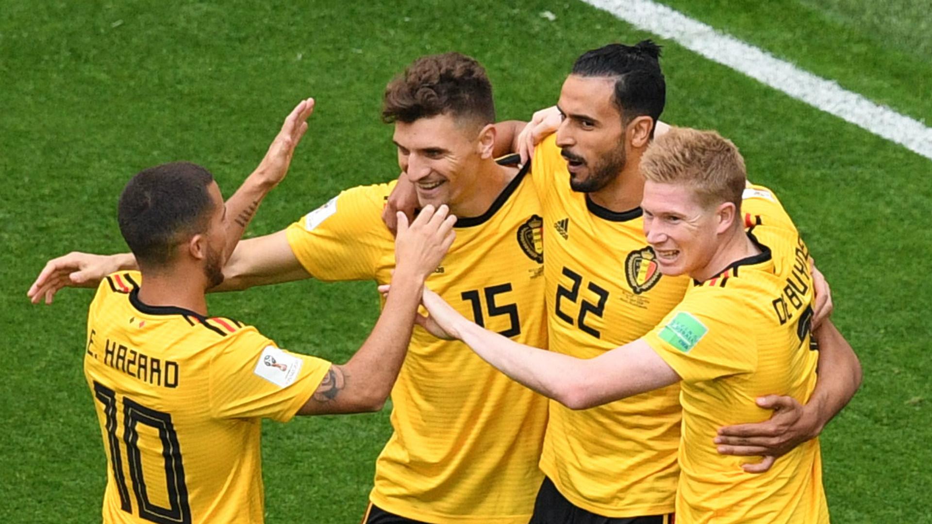 Belgium England WC2018 Meunier Hazard