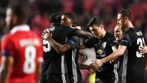 Benfica Manchester United UCL 10182017
