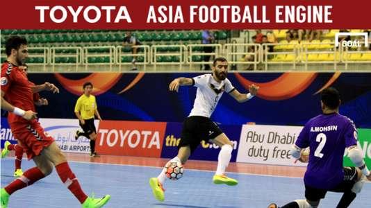 2017 AFC Futsal Club Championship   Sanaye Giti Pasand (Iran) 4-2 Al Rayyan (Qatar)