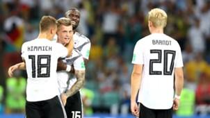 Germany Sweden Toni Kroos Joshua Kimmich Julian Brandt