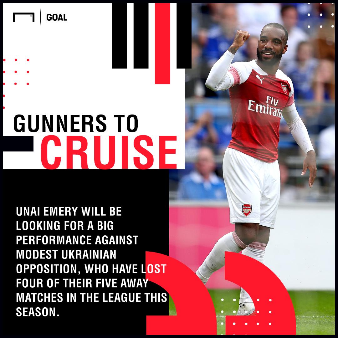 Arsenal Vorskla graphic