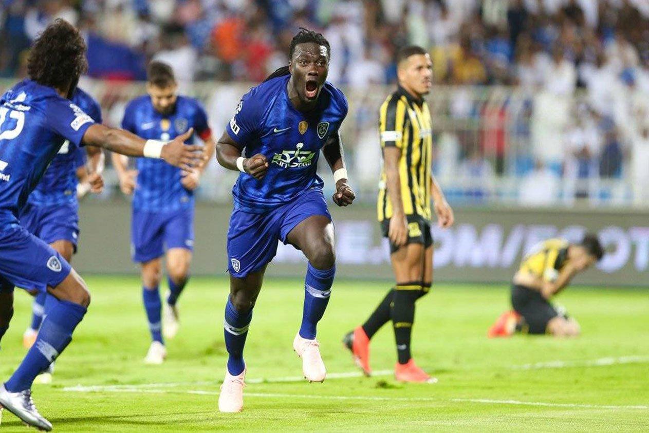 نتيجة بحث الصور عن مباراة الاتحاد والهلال goal.com