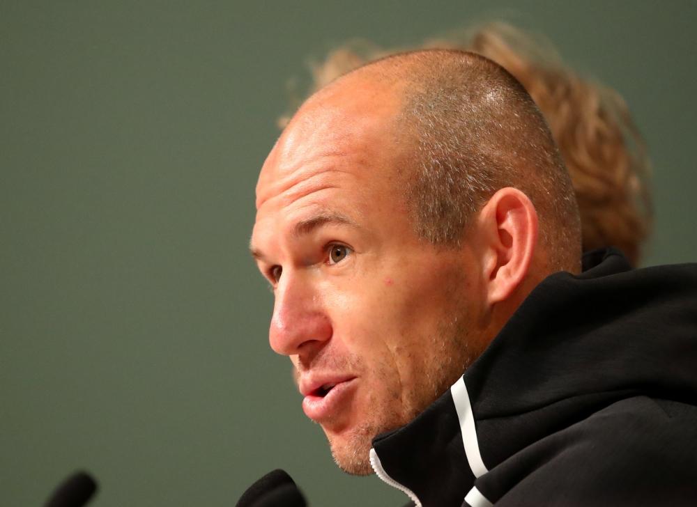 Arjen Robben - press conference