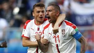 Adem Ljajic Aleksandar Kolarov Serbia Costa Rica